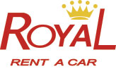 Logotipo de Royal Rent a Car.